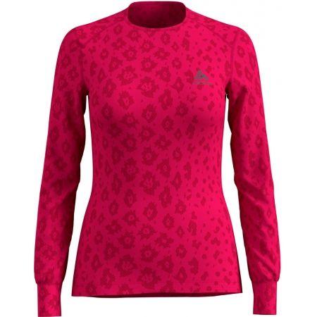 Odlo SUW WOMEN'S TOP L/S CREW NECK ACTIVE WARM X-MAS - Dámské triko