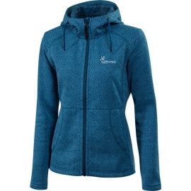 Klimatex LENDA - Dámský outdoor svetr s kapucí
