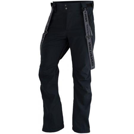 Northfinder LUX - Pánské softshelllové kalhoty na lyže