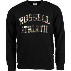Russell Athletic CAMO PRINTED CREWNECK SWEATSHIRT - Pánská mikina