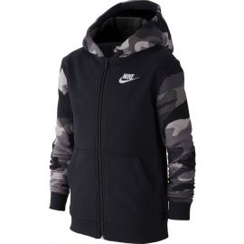 Nike NSW FZ CLUB AOP2 - Chlapecká mikina