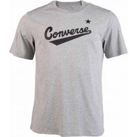 Converse CENTER FRONT LOGO TEE - Pánské tričko