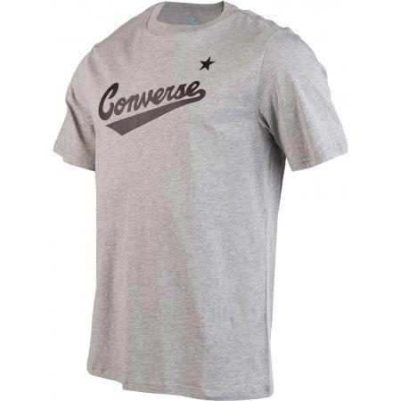 Pánské tričko - Converse CENTER FRONT LOGO TEE - 2