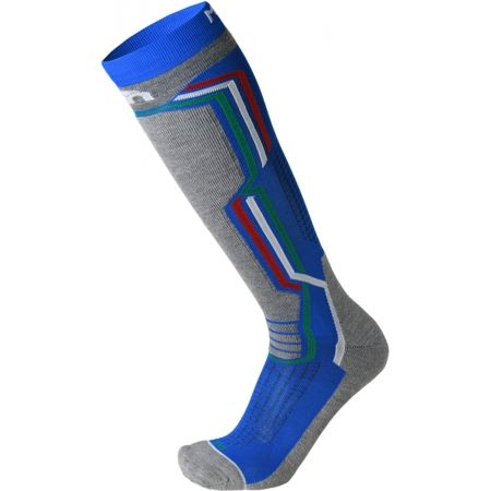 Mico MEDIUM WEIGHT ARGENTO X-STATIC SKI SOCKS