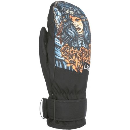 Level SPACE MITT - Pánské snowboardové rukavice