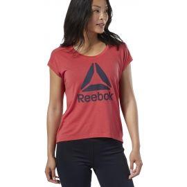 Reebok WOR SUPREMIUM 2.0 TEE BIG LOGO - Dámské tričko