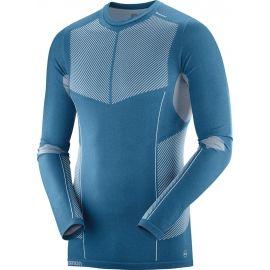 Salomon PRIMO WARM SEAMLESS TEE - Pánské triko