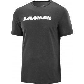 Salomon AGILE GRAPHIC TEE - Pánské tričko