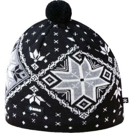 Kama A138-110 ČEPICE MERINO - Pánská pletená čepice