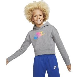 Nike NSW FF CROP G - Dívčí mikina