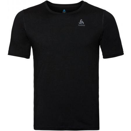 Odlo BL TOP CREV NECK S/S NATURAL 100% MERINO - Pánské funkční tričko