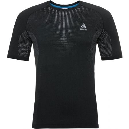 Odlo BL TOP CREW NECK S/S PERFORMANCE WARM - Pánské tričko