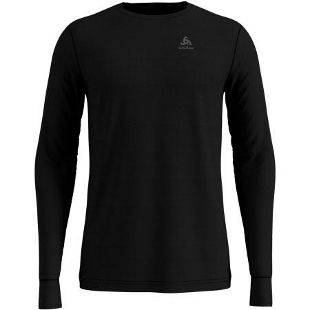 Odlo SUW TOP CREW NECK L/S NATURAL 100% MERINO - Pánské tričko s dlouhým rukávem