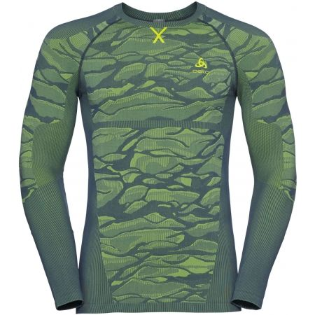 Odlo SUW MEN'S TOP L/S CREW NECK PERFORMANCE BLACKCOMB - Pánské tričko