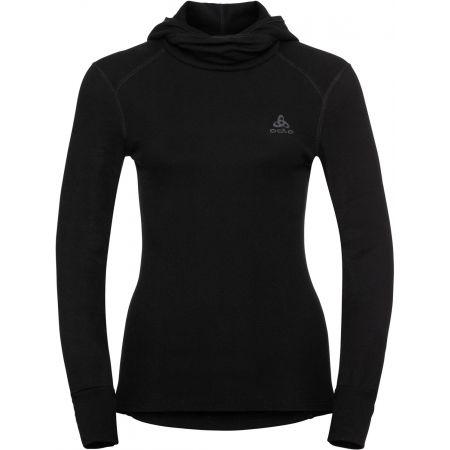 Odlo BL TOP WITH FACEMASK L/S ACTIVE WARM - Dámské tričko s kapucí