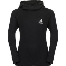 Odlo SUW KIDS TOP L/S WITH FACE MASK ACTIVE WARM - Dětské funkční tričko s dl. rukávem a kapucí