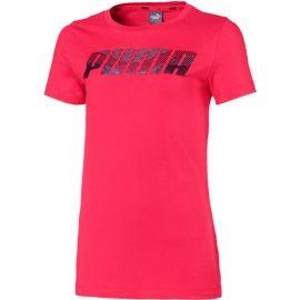 Puma ALPHA LOGO TEE G - Dívčí triko