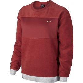 Nike ICON CLSH THEM FLC CREW - Dámská mikina