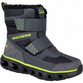 Skechers HYPNO FLASH 2.0 - Chlapecká zimní obuv