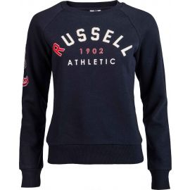 Russell Athletic BADGED-CREWNECK RAGLAN SWEATSHIRT - Dámská mikina