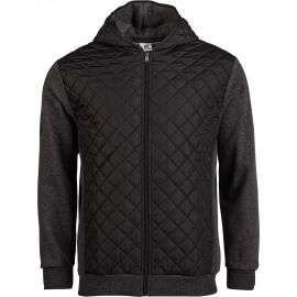 Russell Athletic QUILT-HOODED BOMBER JACKET - Pánská mikina