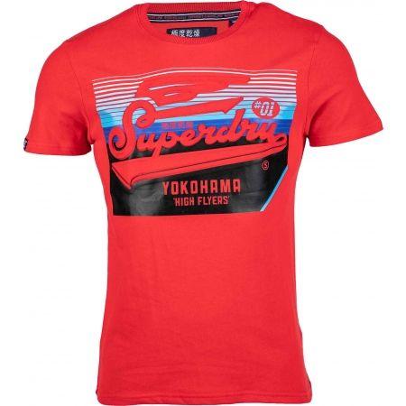 Superdry EMBOSSED CLASSICS TEE - Pánské tričko