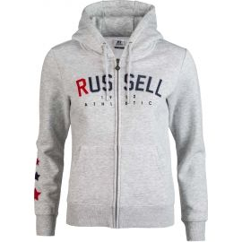 Russell Athletic PRINTED ZIP THROUGH HOODY SWEATSHIRT - Dámská mikina