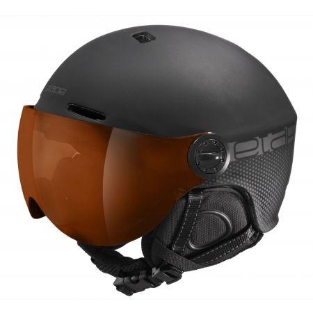 Etape PHOENIX PRO - Unisex lyžařská přilba s visorem