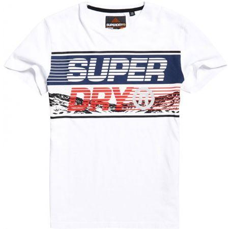 Superdry DOWNHILL PHOTOGRAPHIC TEE - Pánské tričko