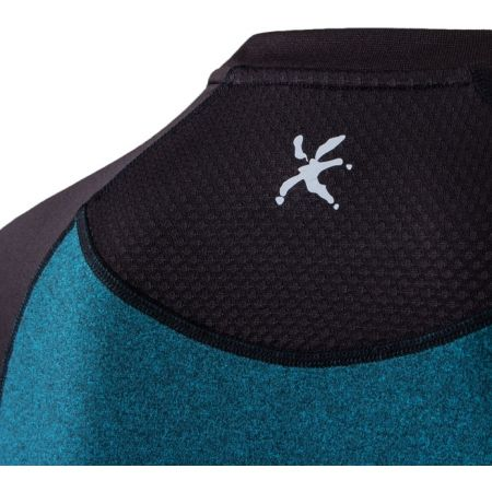 Pánské běžecké tričko s dlouhým rukávem - Klimatex DR SVEN - 4