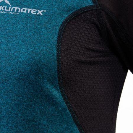 Pánské běžecké tričko s dlouhým rukávem - Klimatex DR SVEN - 5