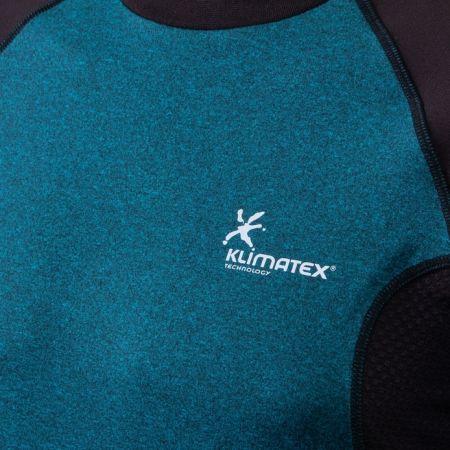 Pánské běžecké tričko s dlouhým rukávem - Klimatex DR SVEN - 6