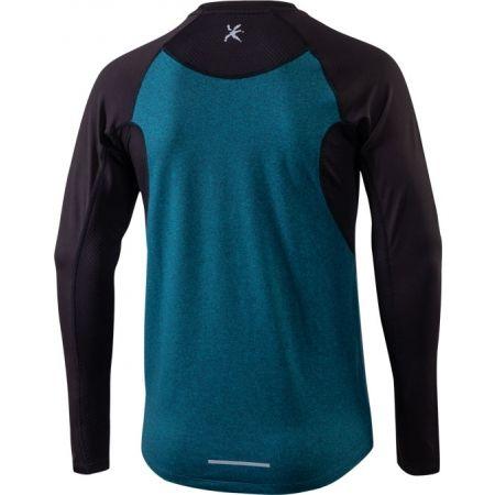 Pánské běžecké tričko s dlouhým rukávem - Klimatex DR SVEN - 2