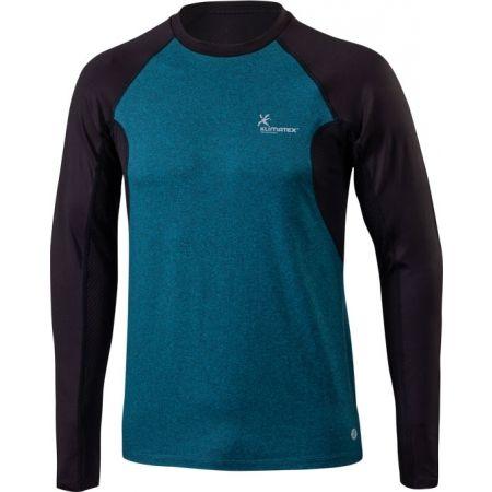 Pánské běžecké tričko s dlouhým rukávem - Klimatex DR SVEN - 1