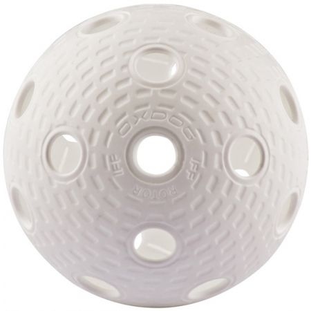 Sada florbalových míčků - Oxdog ROTOR WHITE TUBE 4 BALLS - 2