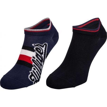 Tommy Hilfiger MEN HILFIGER SNEAKER 2P - Pánské ponožky