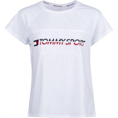 Tommy Hilfiger BLOCKED TEE LOGO - Dámské tričko