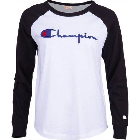 Champion CREWNECK LONG SLEEV - Dámské tričko s dlouhým rukávem