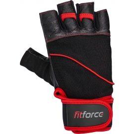 Fitforce FERAL - Kožené fitness rukavice
