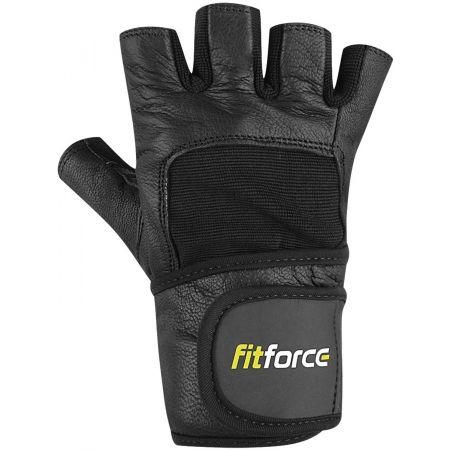 Rukavice na fitness - Fitforce FITNESS RUKAVICE - 1