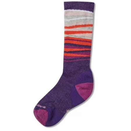 Smartwool WINTERSPORT STRIPE - Dětské zimní ponožky