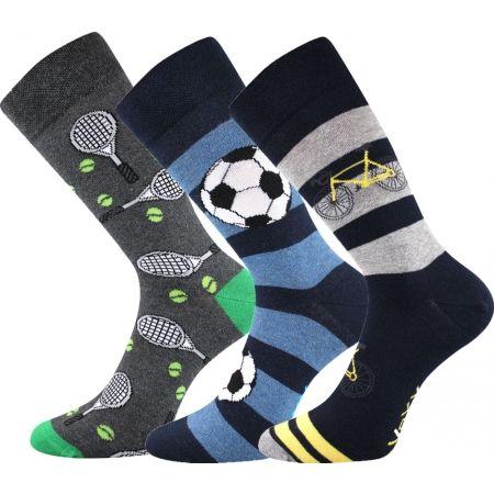 Voxx S-BOX pánská 3pack - Pánské ponožky