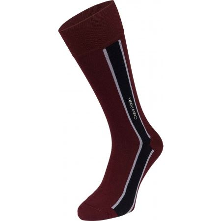 Calvin Klein VERTICAL STRIPE CREW - Pánské ponožky
