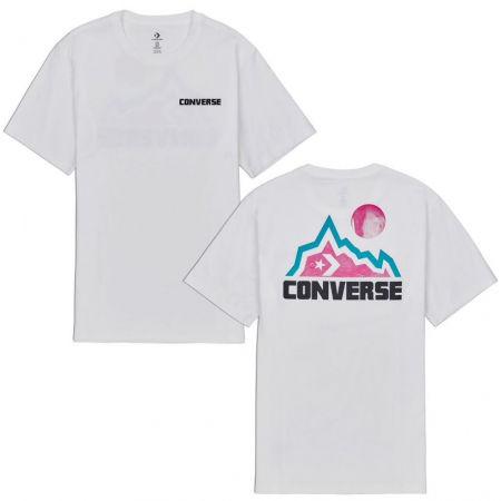 Converse MOUNTAIN MOON GRAPHIC SHORT SLEEVE T-SHIRT - Pánské tričko