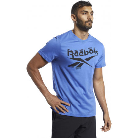 Reebok GS BRANDED CREW TEE - Pánské triko