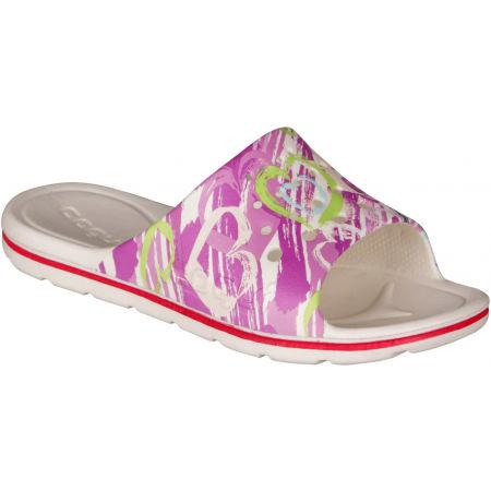 Coqui LONG PRINTED - Dětské pantofle