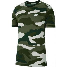 Nike NSW CAMO AOP SS TEE M - Pánské tričko