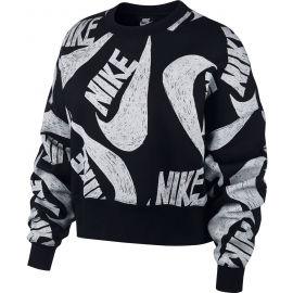 Nike NSW ICN CLSH FLC CREW W - Dámská mikina