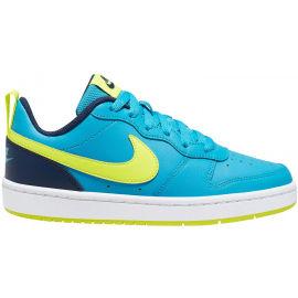 Nike COURT BOROUGH LOW 2 GS - Dětská volnočasová obuv