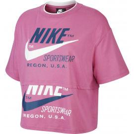 Nike NSW ICN CLSH SS TOP W - Dámské tričko